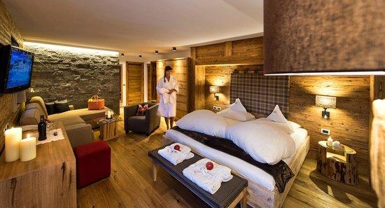 Cyprianerhof Dolomit Resort: Naturzimmer Saltner