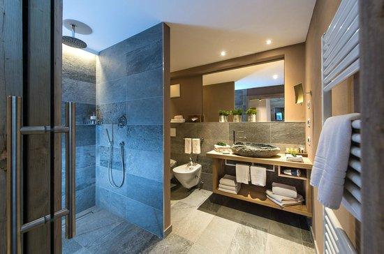 Cyprianerhof Dolomit Resort: Badezimmer