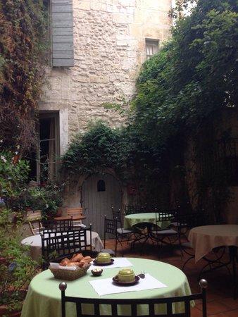 Hotel Du Musee : Cour intérieure