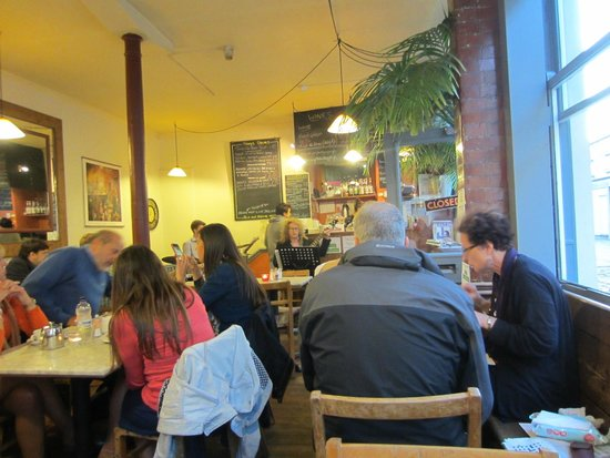 The Kingsmead Kitchen: Full house and good atmosphere