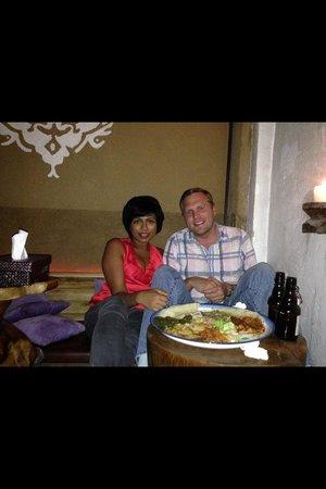 Im Herzen Afrikas: Loving our dinner!