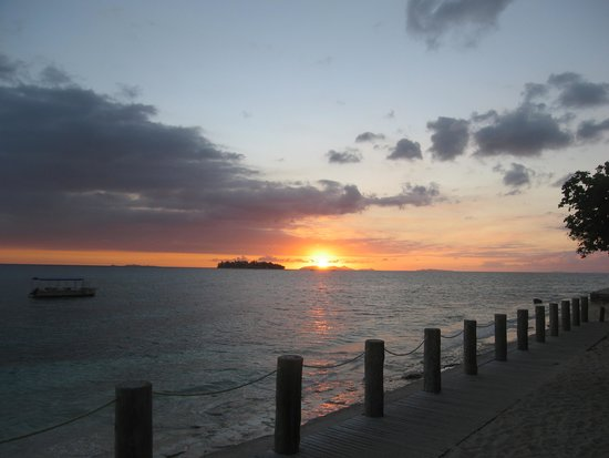 Treasure Island Resort: Beautiful sunset
