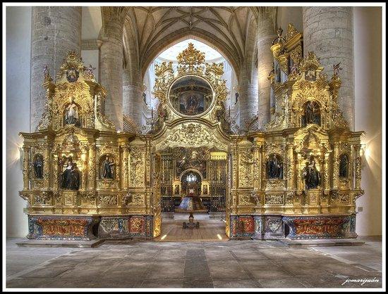 Monasterio de Yuso : TRASCORO, IGLESIA