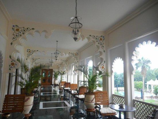 Trident Udaipur: Breakfast/Dining area