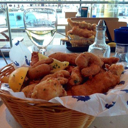 Mures Lower Deck: Seafood Basket