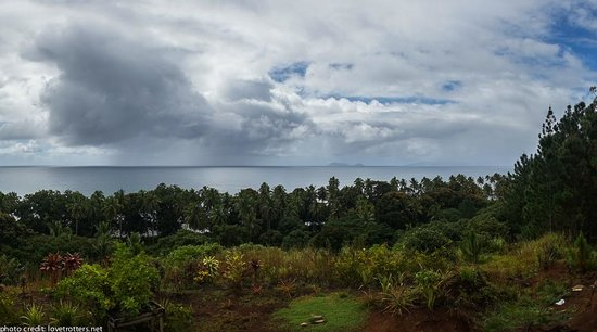 Takalana Bay Resort : The view from the restaurant area