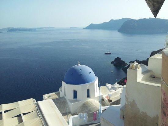Terpsi en Oia: great view