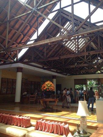 The Leela Kovalam Beach: The Main lobby