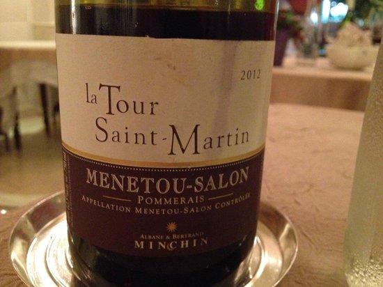 Auberge du Bon Laboureur : Restaurant Vin Menetou-Salon Excellent Gastronomie
