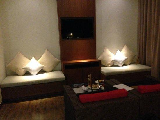 Beyond Resort Khaolak: gemütliche Sitzecke