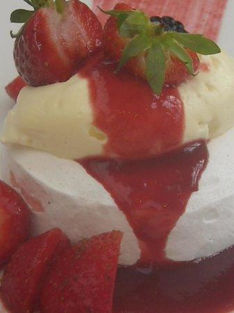 Chewton Glen Hotel & Spa: Lime infused Strawberrys