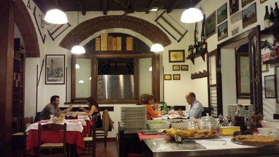 Hosteria del Cavo: una sala del ristorante