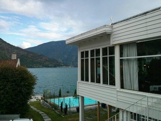 Hofslund Fjord Hotel: Vistas desde la terraza de la habitación