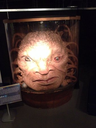 Doctor Who Experience Cardiff Bay: Face of boe