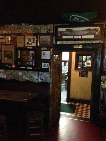 The Brazen Head: the Bar downstairs