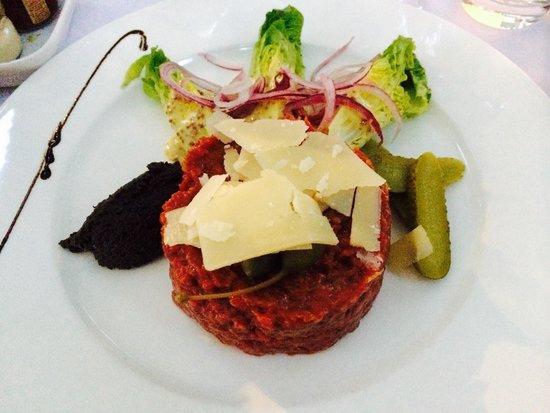 La Plancha : Beef tartare