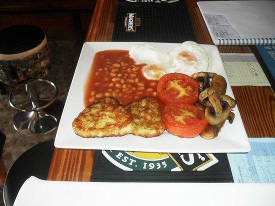 7 Palms Restaurant and Bar: a lovely vegie breakfast