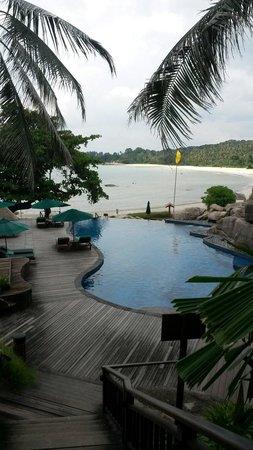 Banyan Tree Bintan : Pool area