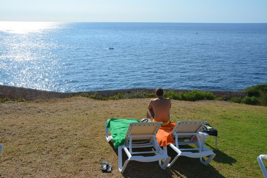 Blau Punta Reina Resort : vista dalla piscina