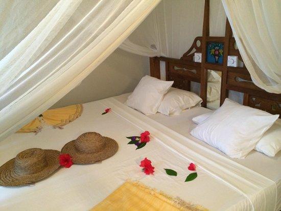 Zanzibar Retreat Hotel: The bedroom