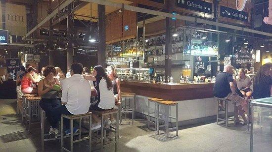 Mercado San Miguel: Lindo lugar para unas copas