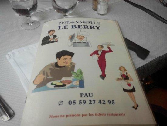Le Berry : La carte