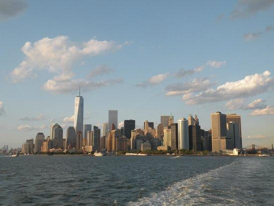 Staten Island Ferry : Manhattan de jour depuis le ferry