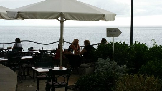 Pestana Ocean Bay Hotel : Dinner on the terrace