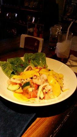 Mulligan's: Seafood salad