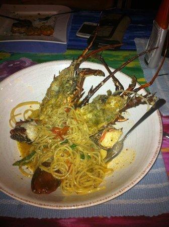 Soda Mediterranea: Spaghetti a la Langosa