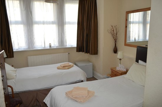 Chandos Premier Guest House: Room for 2-3 adults double and single bed