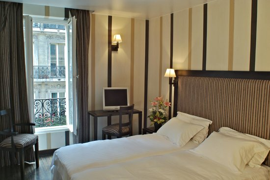 Hotel Europe Saint Severin: Chambre Twin Supérieure