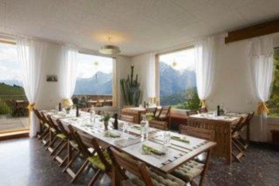 Hotel Bellavista: Restaurant und Aufenthaltsraum