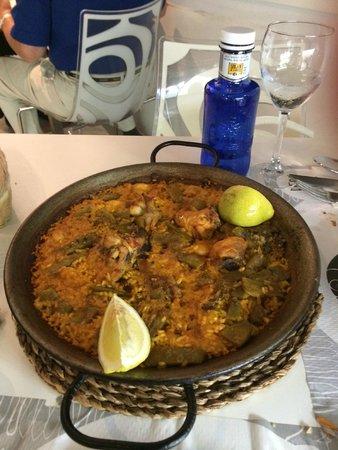 Pepe Pica: paella alla valenciana