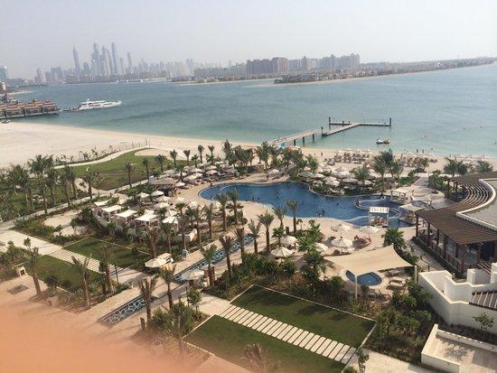 Waldorf Astoria Dubai Palm Jumeirah: From room balcony