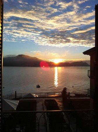 Antico Verbano: Sonnenuntergang über dem See