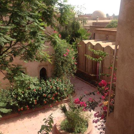 La Maison des Oliviers : Enceinte de l'hôtel - Vue de l'étage d'un riad