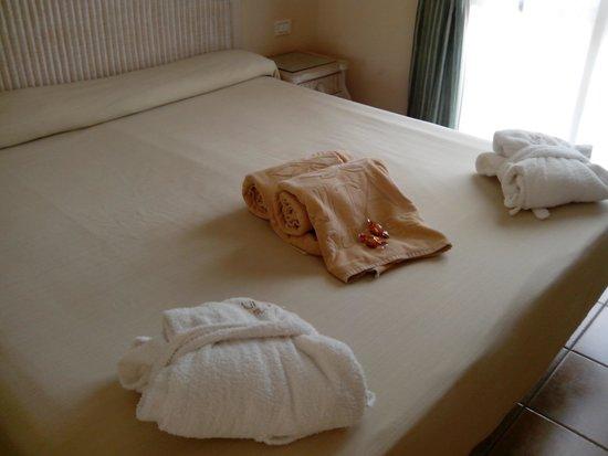 Vital Suites Hotel & Spa: bienvenida