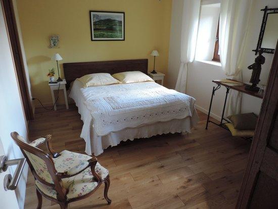 Jardin d' Arsac: notre jolie chambre