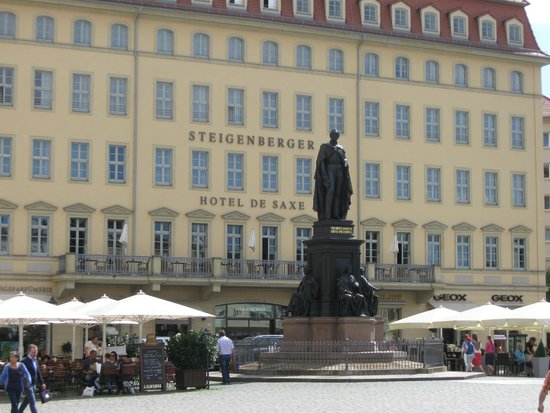 Steigenberger Hotel de Saxe: The Dresden's oasis of luxury