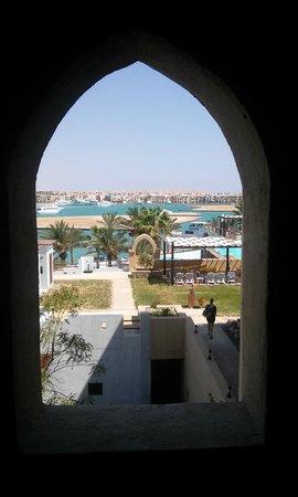 Marina Lodge at Port Ghalib : Une vue prise dans les escaliers