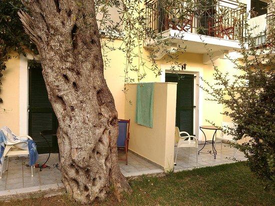 SENTIDO Apollo Palace : terrasse de la chambre