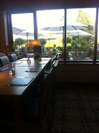 Roosters Bar & Restaurant at Morley Hayes: View from new extension