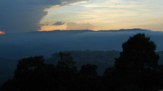 Casa rural Mas Del Salin: Sunset view