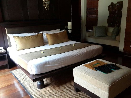 Villa Mahapala: The master room