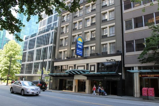 Days Inn Vancouver Downtown : Days Inn Vancouver