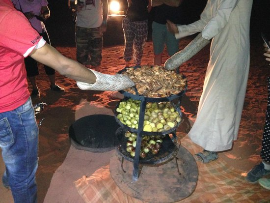 Bedouin Lifestyle Camp: Food
