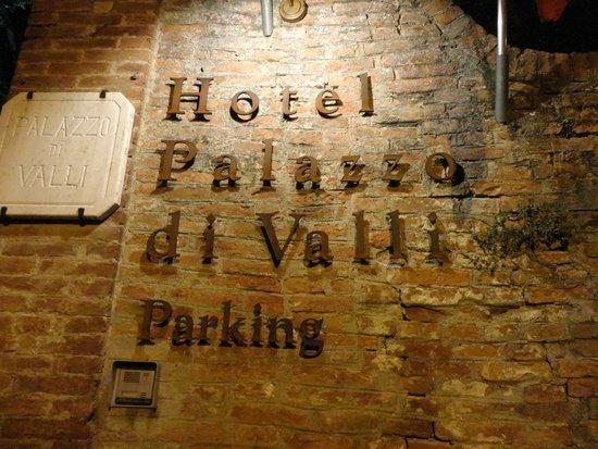 Palazzo di Valli: The hotel