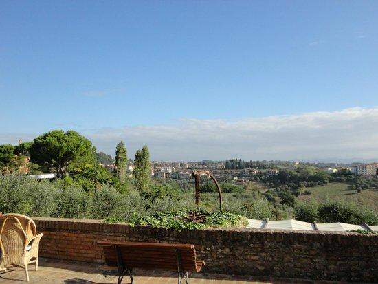 Palazzo di Valli: The terrace