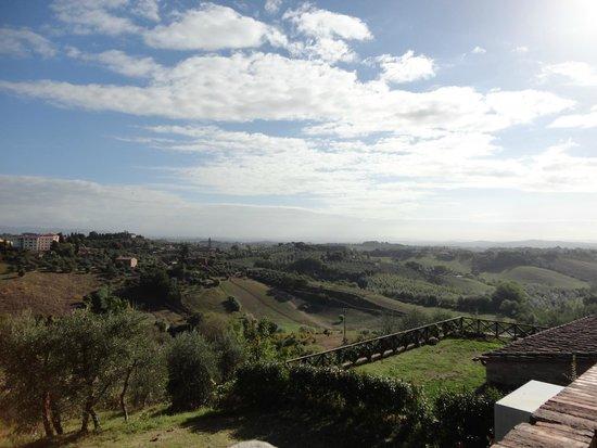 Palazzo di Valli: The view